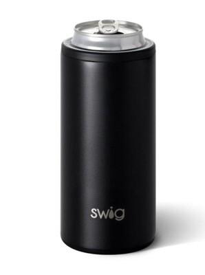 Swig 12oz. Skinny Can Cooler - Matte Black