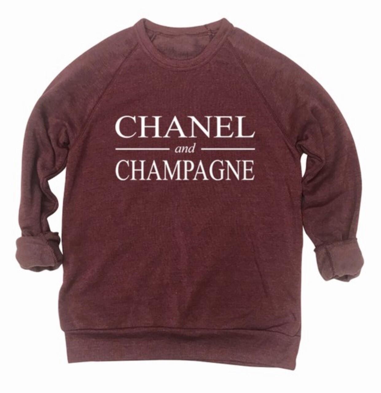 Burgundy C&C Sweatshirt