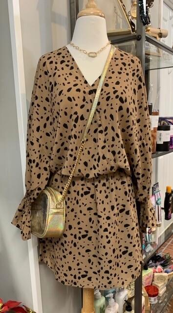 Boho Wrap Style Dress - Coco