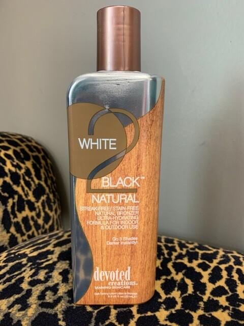 White 2 Black Natural Streak Free Lotion