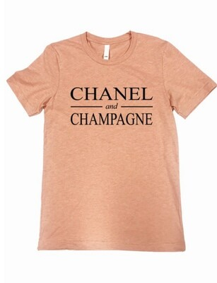 Chanel & Champagne Sunset