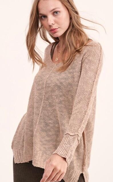 Taupe L\W Sweater
