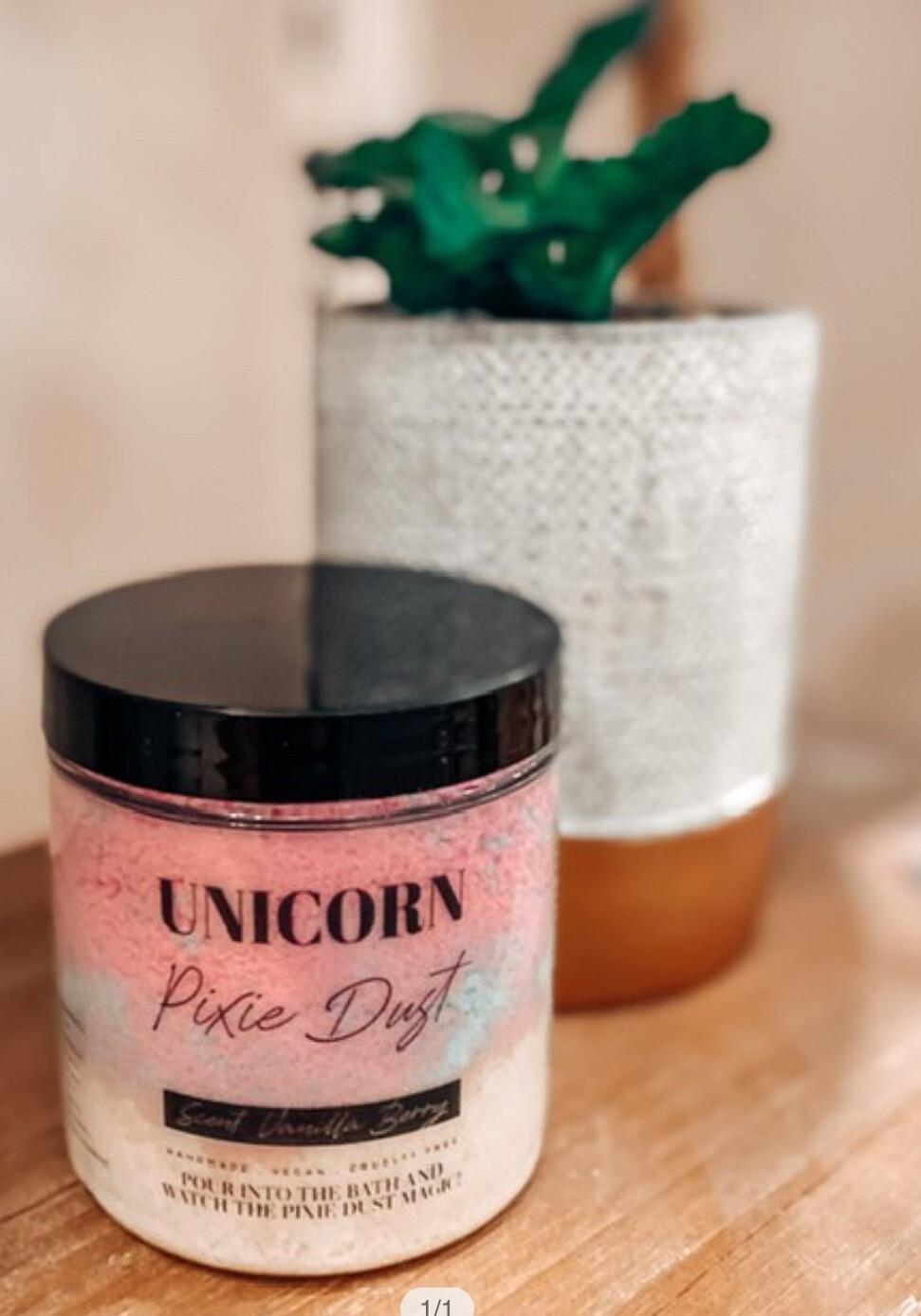 Unicorn Pixie Bath Dust - Vanilla Berry