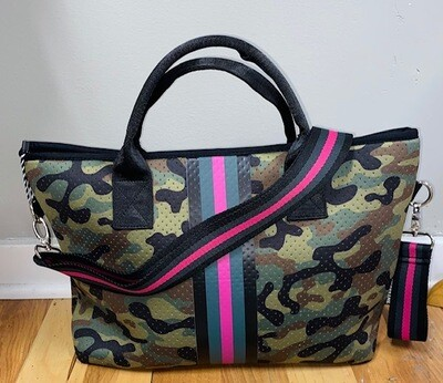 PreneLOVE Small Tote - Pink Army