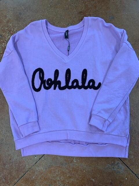 Ohh Lala Lilac Sweatshirt