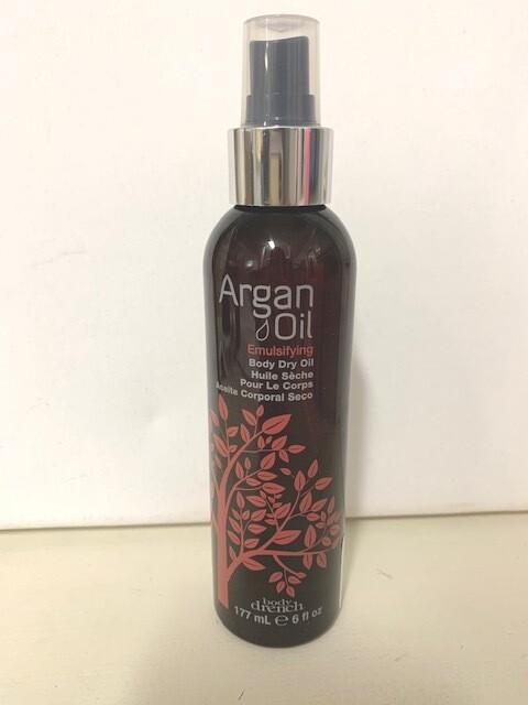 BD Argan Emulsifying Dry Body Oil