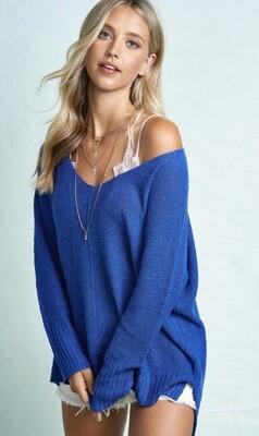 Royal Blue L\W Sweater