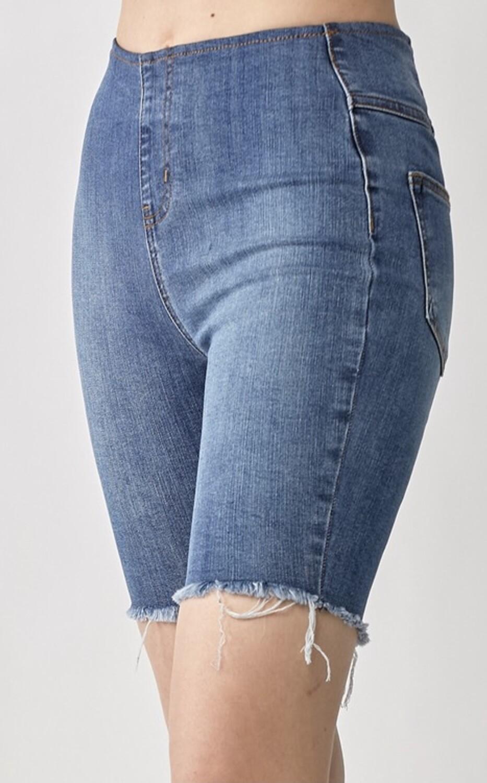 Pull On Biker Shorts
