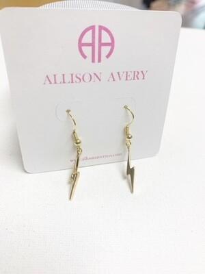 AA Lightning Bolt Earrings