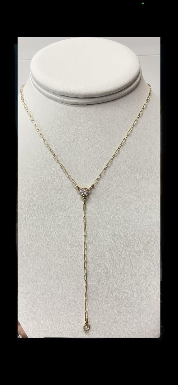AA Golden Hour Lariat Necklace