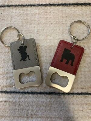 Bottle Opener Mascot Key Chain