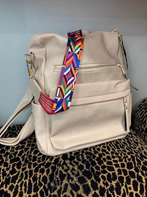Backpack\Shoulder Bag - Bone