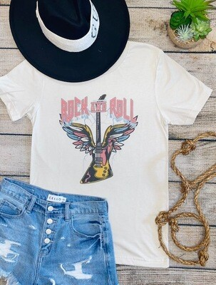 Rock And Roll Tee - Heather