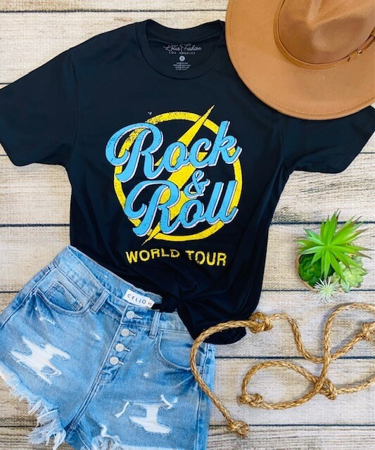 Rock And Roll World Tour Tee