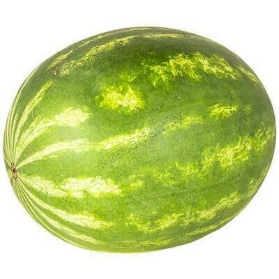 Watermelon, whole, fresh