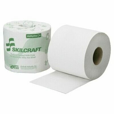 Toilet paper, 1-ply (single roll)