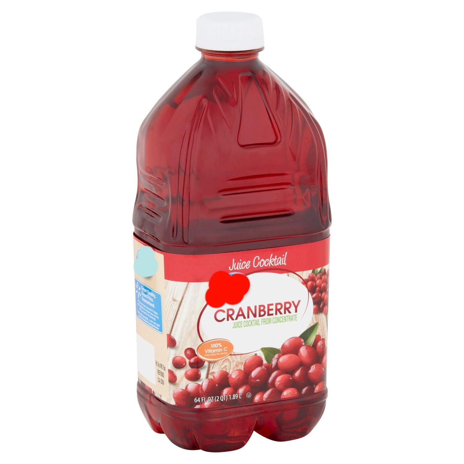 Chef's Choice Cranberry Juice (64 oz)