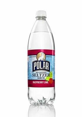 Polar Seltzer, Raspberry Lime (1 Liter)