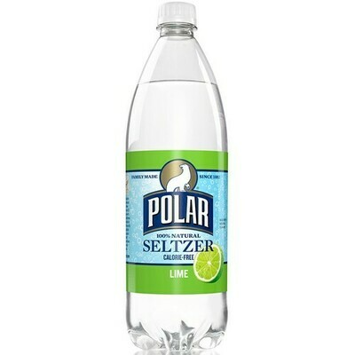 Polar Seltzer, Lime (1 Liter)