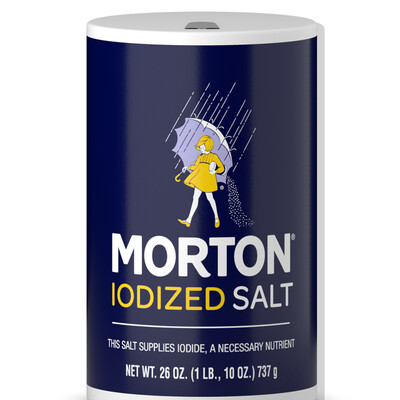 Morton Salt Iodized (26 oz)