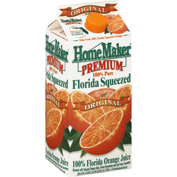 Florida Squeezed Orange Juice (half gallon)
