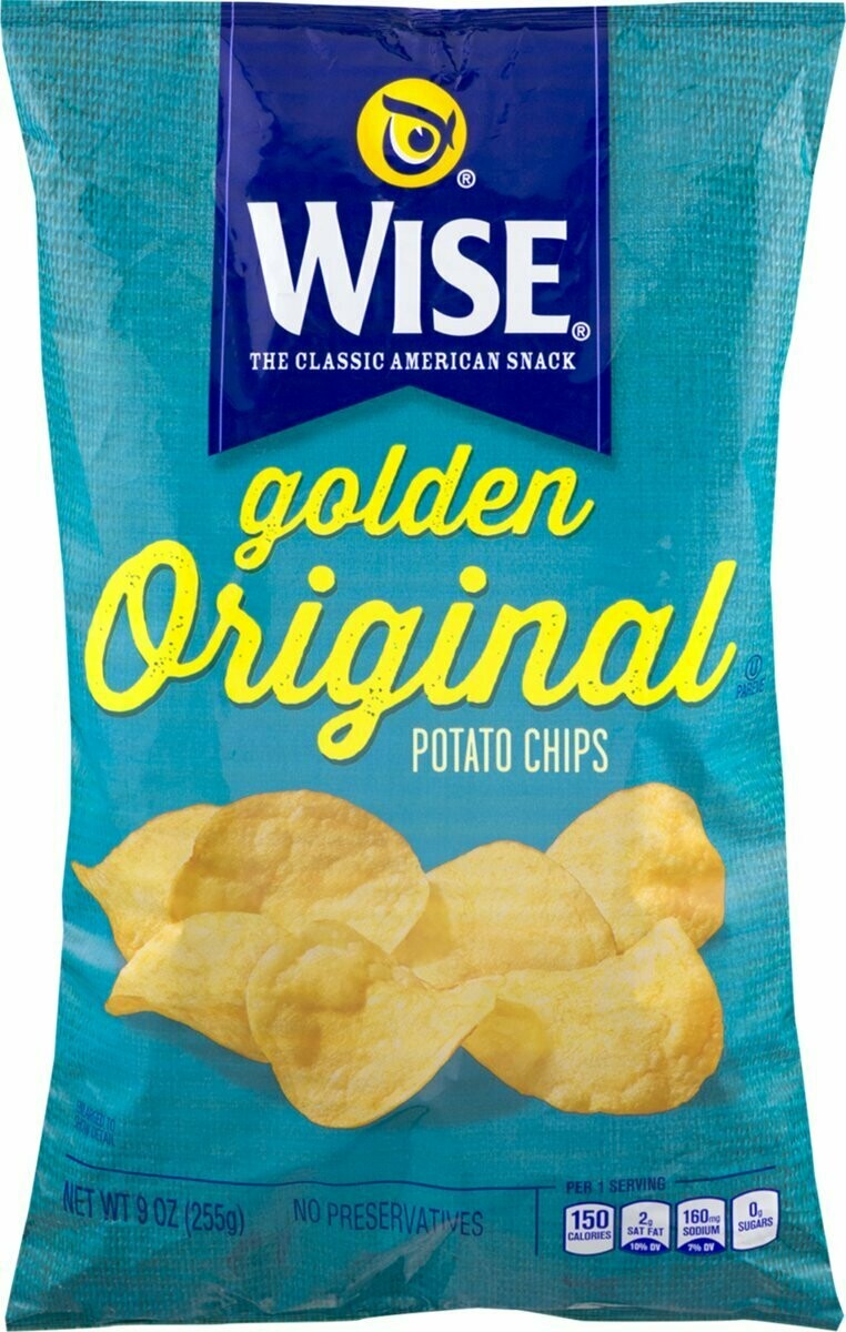Wise Golden Original Potato Chips (9 oz)