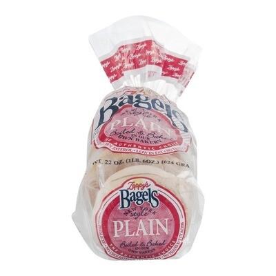 Zeppy's New York Style Bagels, Original (6ct / 22oz)