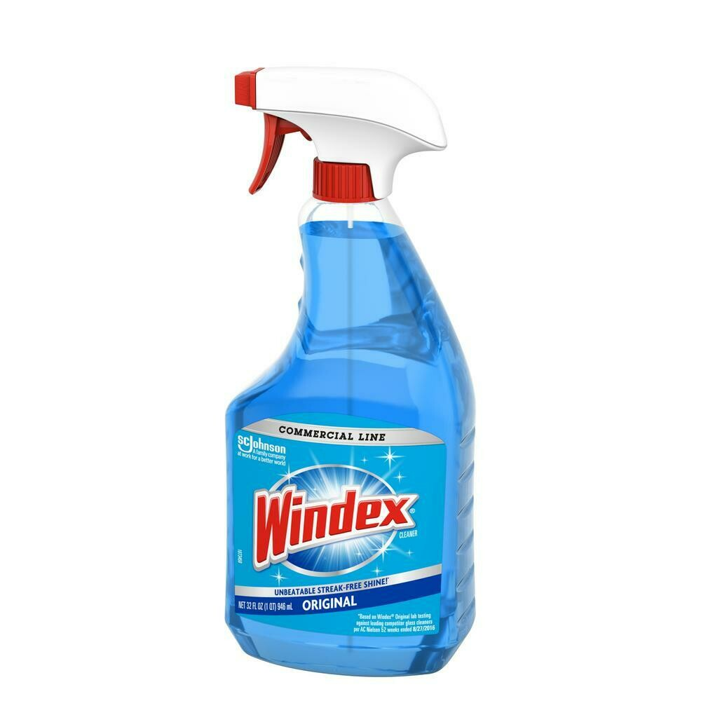 Windex Commercial Window Cleaner (32 oz bottle)