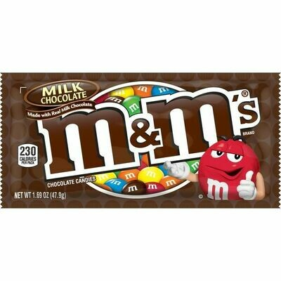 M&M Milk Chocolate Candies (1.69 oz bag)