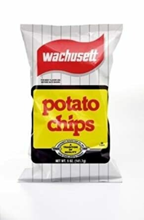 Wachusett Potato Chips Original (5 oz bag)