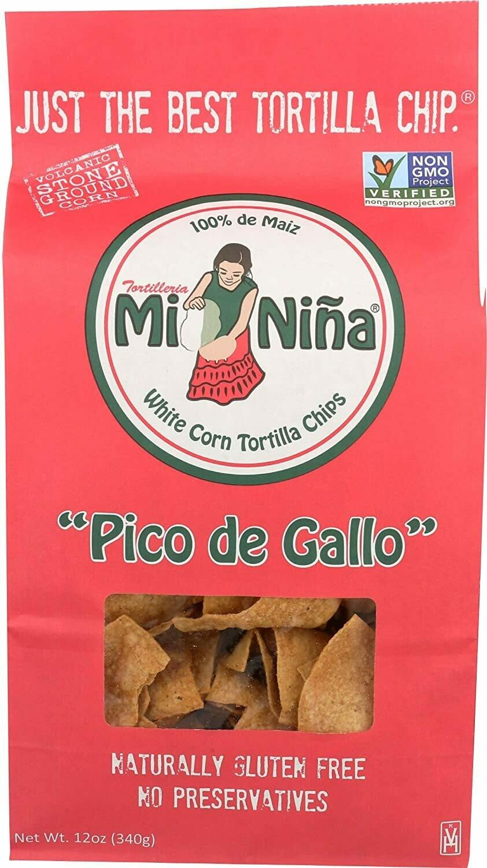 MI NINA TORTILLA Pico De Gallo Tortilla Chips (12 OZ BAG)