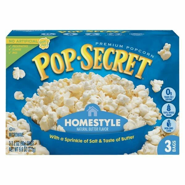 Pop-Secret Microwave Popcorn, Homestyle (3ct box)