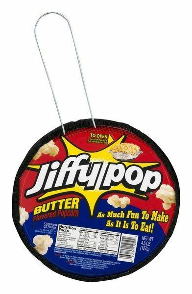 Jiffy Pop Stove Top Butter Popcorn (4.5 oz)