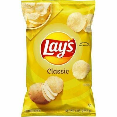 Lay's Classic Potato Chips (8 oz bag)