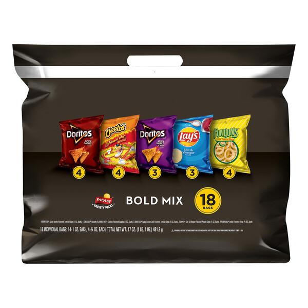 Frito-Lay Bold Mix Variety Pack (18 ct)