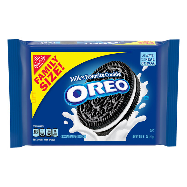 Nabisco Oreo Cookies Family Size (19.1 oz)