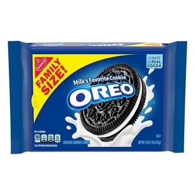 Nabisco Oreo Cookies Family Size (19.1 oz)