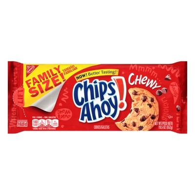 Nabisco Chips Ahoy! Chewy Chocolate Chip Cookies Original Family Size (19.5 oz)