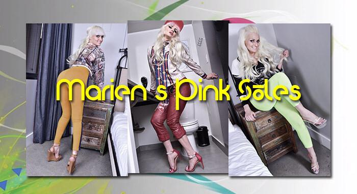 Marien's Pink Soles (V)