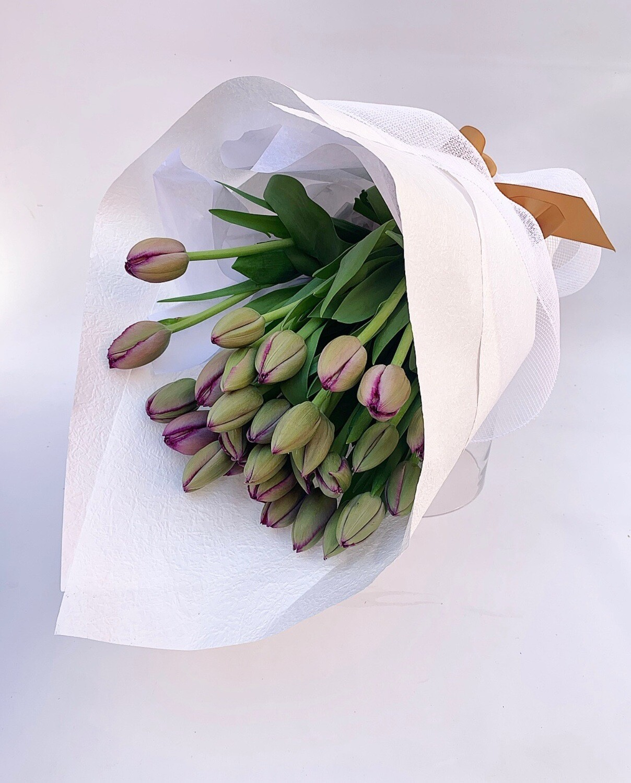 Tulips en masse