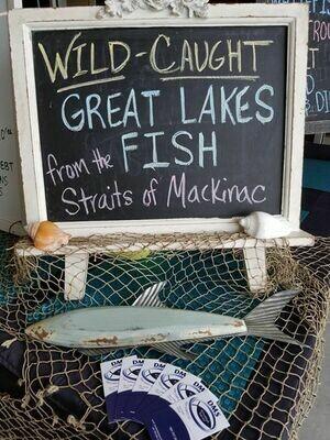 MI Great Lakes Fish Co. Laker Patties