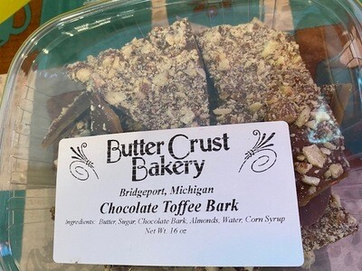 Butter Crust Bakery Chocolate Almond Toffee