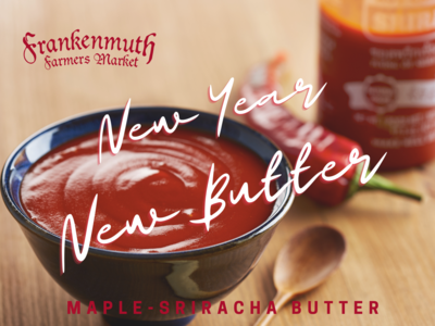 Market Made Maple-Sriracha Butter