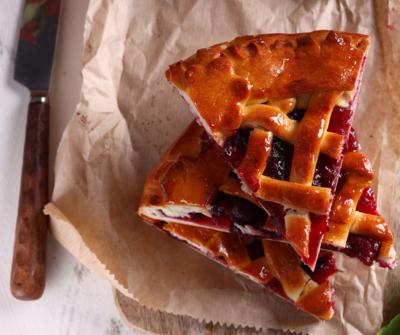 Butter Crust Bakery Four Berry Pie