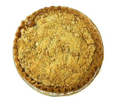 Butter Crust Apple Crumble Pie