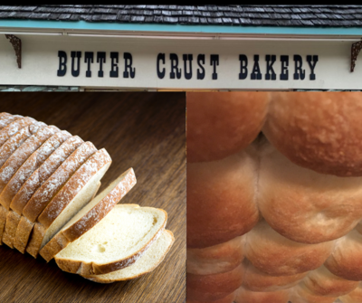 Butter Crust Bakery Tea Rolls or Homestyle White