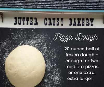 Butter Crust Pizza Dough