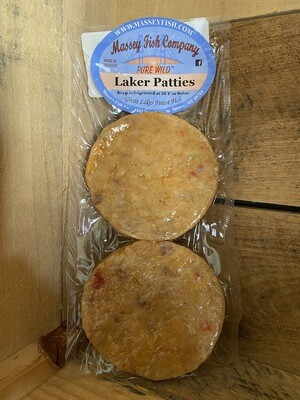 Laker Patties from MI Great Lakes Fish Co.