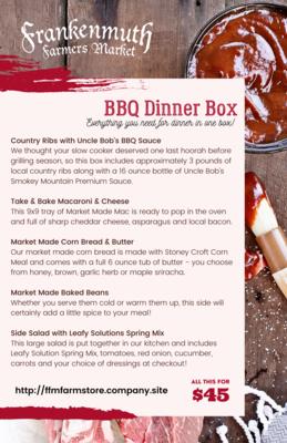 BBQ Dinner Box