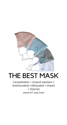 💥🎉Reopening  Buy 6 Get 1 FREE 🎉💥 Adjustable Ear loops Hygienic Nano Fiber  Double Antimicrobial Layers Liquid Repellent Fabric Face Mask